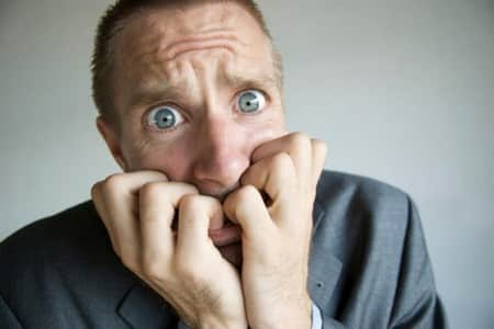 Психическое расстройство у мужчины
