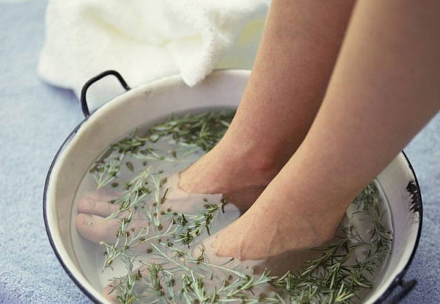 лечение грибка ногтей травами