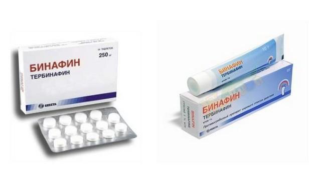 бинафин от грибка ногтей отзывы цена таблетки