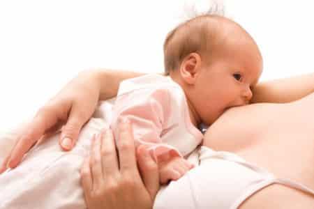 ребёнок и грудь